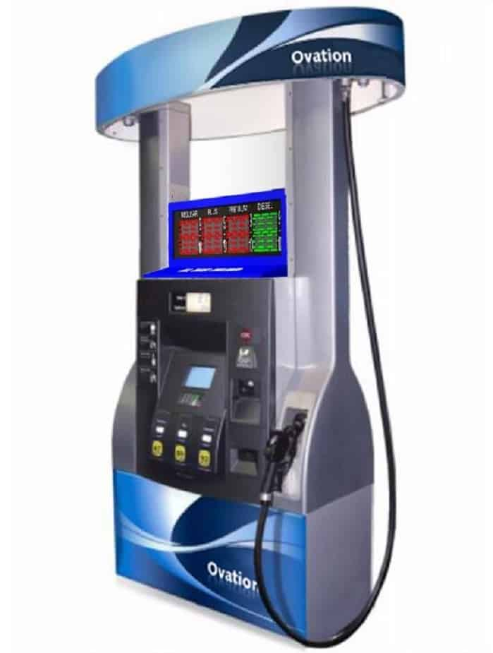 Wayne LED gas pump topper rendering