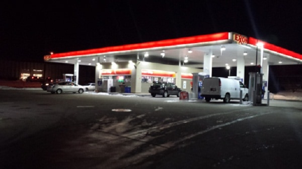 EXXON LED Canopy Lights, Rockville MD