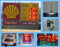 A Wireless Cash Credit led gas price signs and LED Lighting Plan