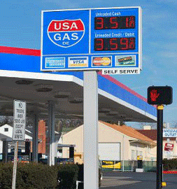 USA GAS WILMINGTON,DE